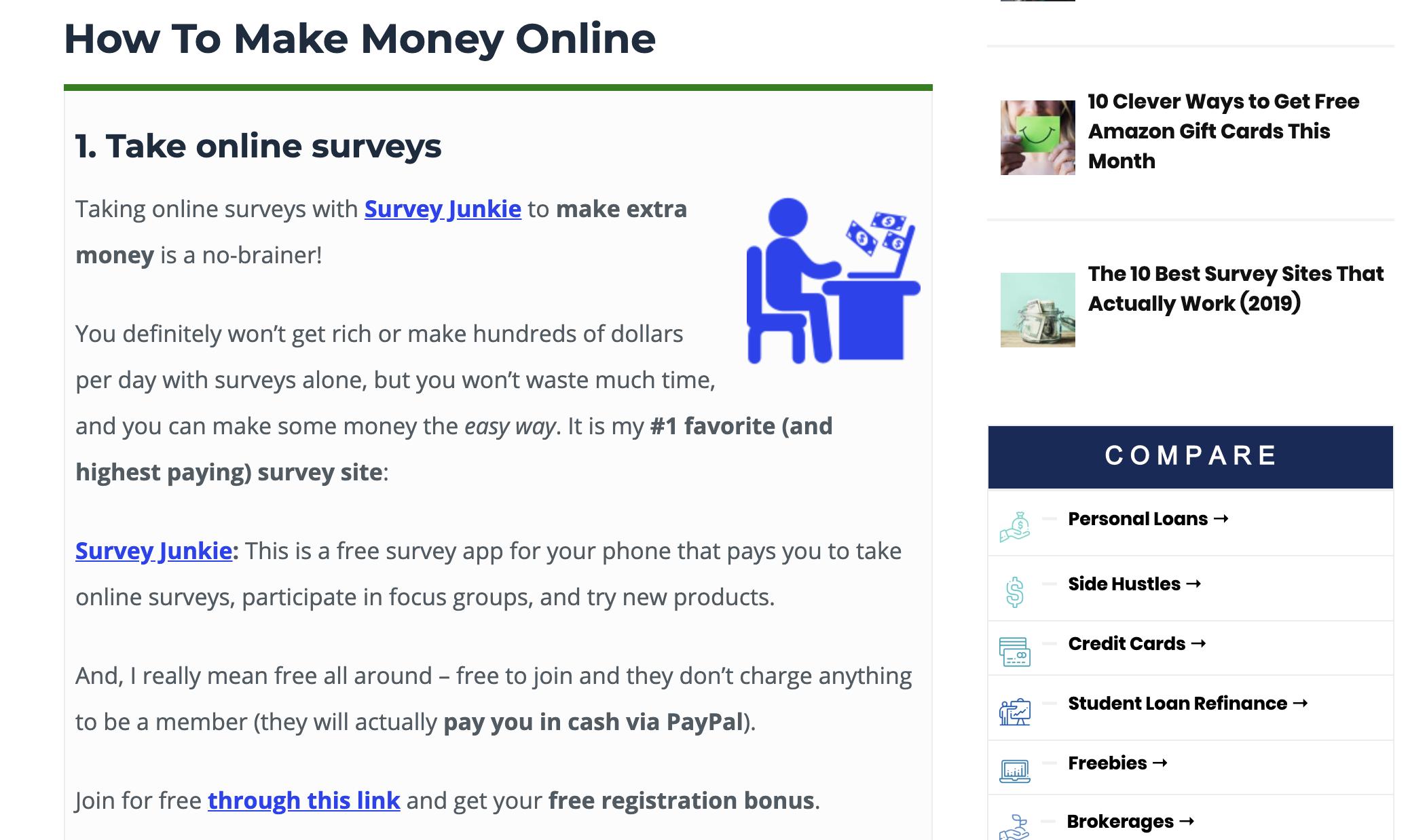 survey junkie affiliate program
