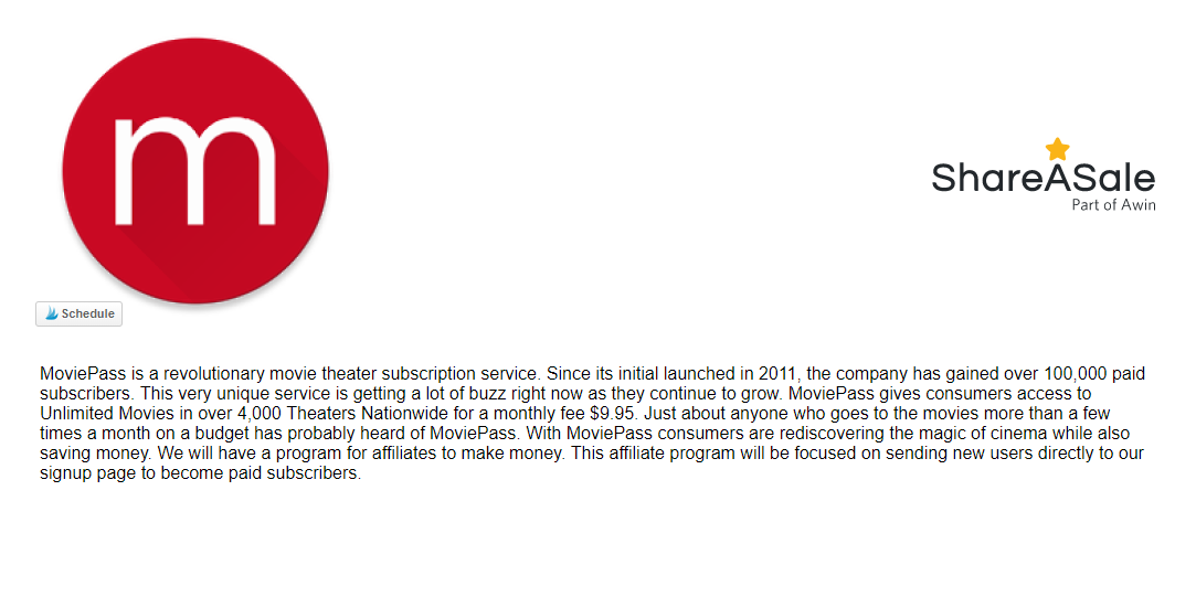 moviepass affiliate program